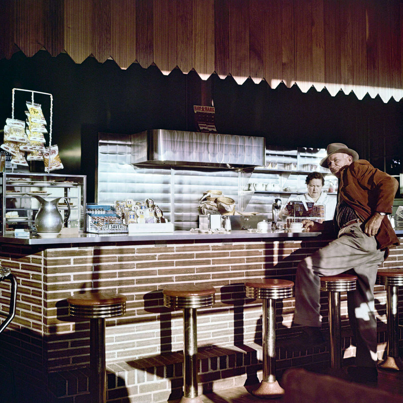 "With his eyes wide open 07: Max Näder ""Coffee Shop, Florida"" (1958)"