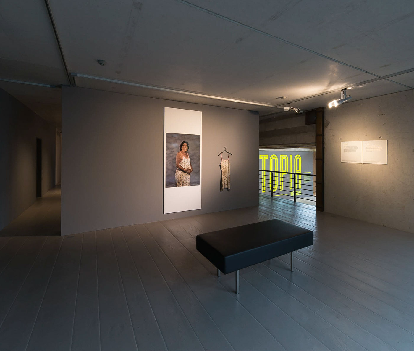 "Rottenberg 04: Exhibition view (""The Mother"")"